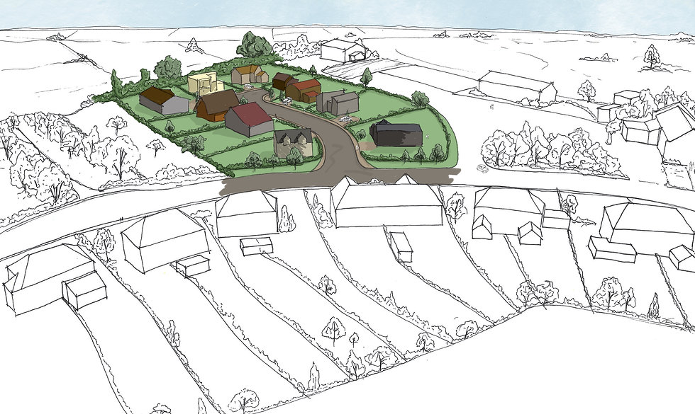 Self build project in countryside area in East Anglia