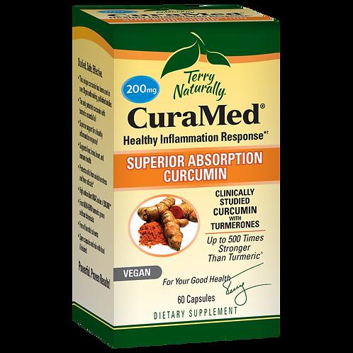 CuraMed Healthy Inflammation response 200 mg 60 tabs