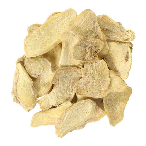 Ginger Root, Cut & Sifted, Organic