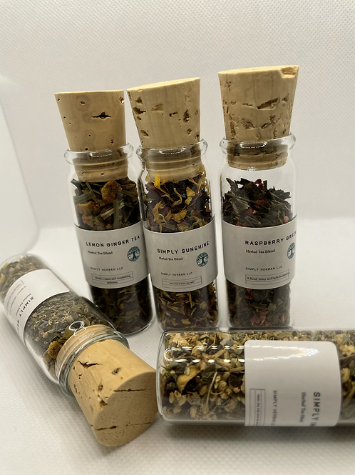 Herbal Tea Blend Sample