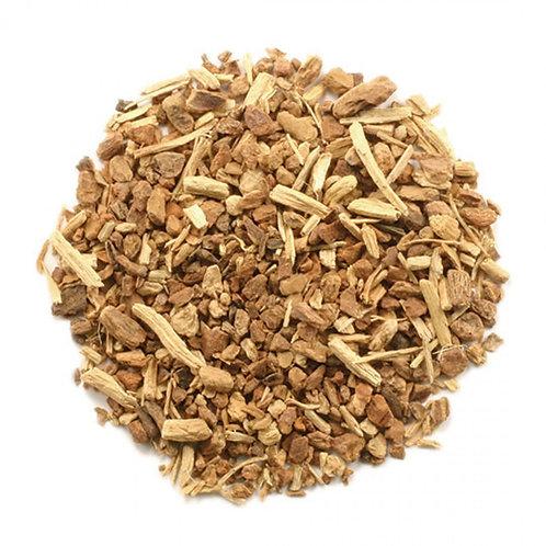 Indian Sarsaparilla Root, Cut & Sifted