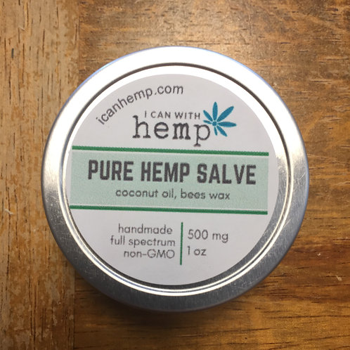 I Can: Pure Salve 500 mg