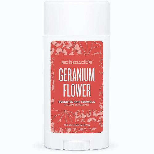 Schmidt's Geranium Flower Sensitive Skin Natural Deodorant