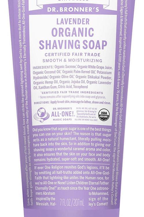 Lavender Organic Shaving Soap