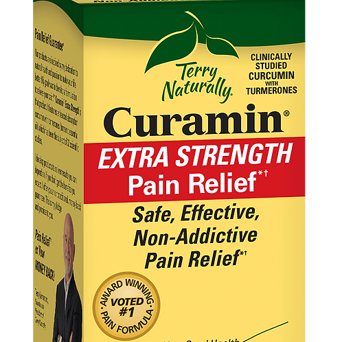 Curamin Extra Strength Pain Relief 30 tabs, Terry Naturally