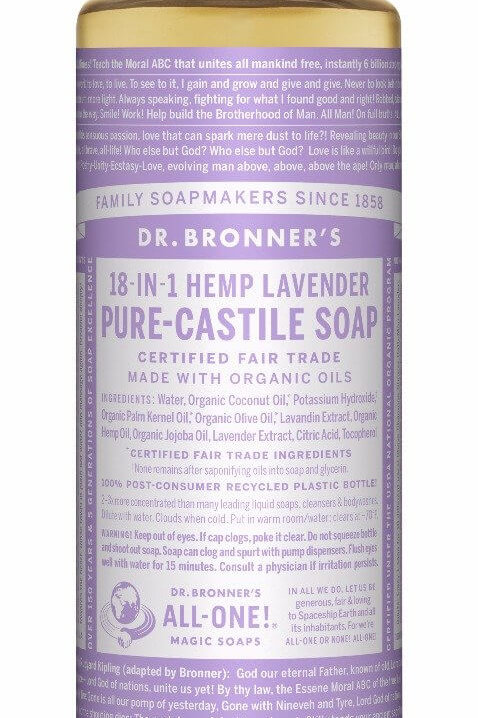 18-IN-1 Hemp Lavender Soap