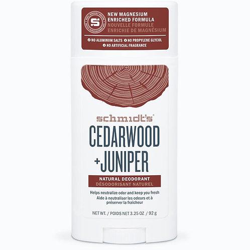 Schmidt's Cedarwood and Juniper Natural Deodorant