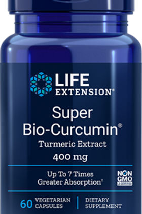 Super Bio-Curcumin 400mg, 60 Tabs, Life Extension