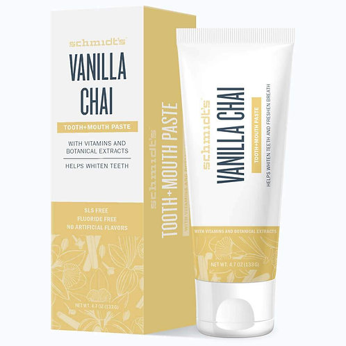 Schmidt's Vanilla Chai Tooth and Mouth Paste