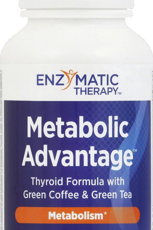 Metabolic Advantage, Thyroid Formula, Enzymatic Therapy 180 caps