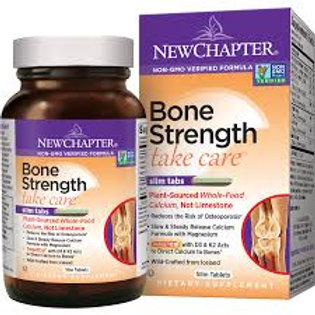 Bone Strength Take Care90 Slim tabs, New Chapter