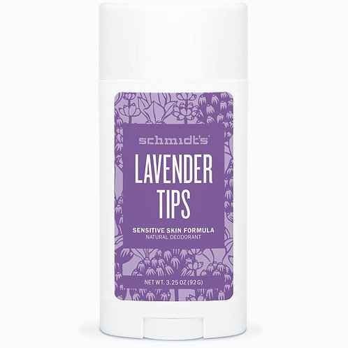 Schmidt's Lavender Tips Sensitive Skin Natural Deodorant