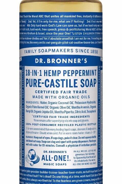 18-IN-1 Hemp Peppermint Soap