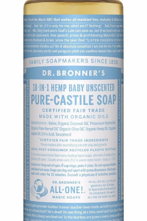 18-IN-1 Hemp Baby Unscented Soap