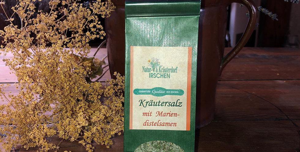 Kräutersalz mit Mariendistelsamen