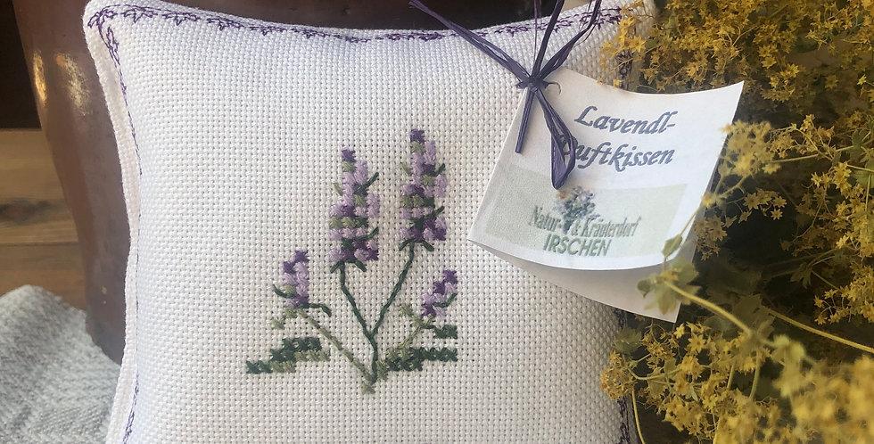 Lavendelsäckchen handbestickt