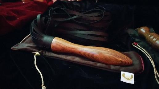 Palisander Peitsche Rocket Black