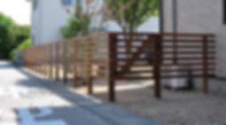 柵っぽいフェンス