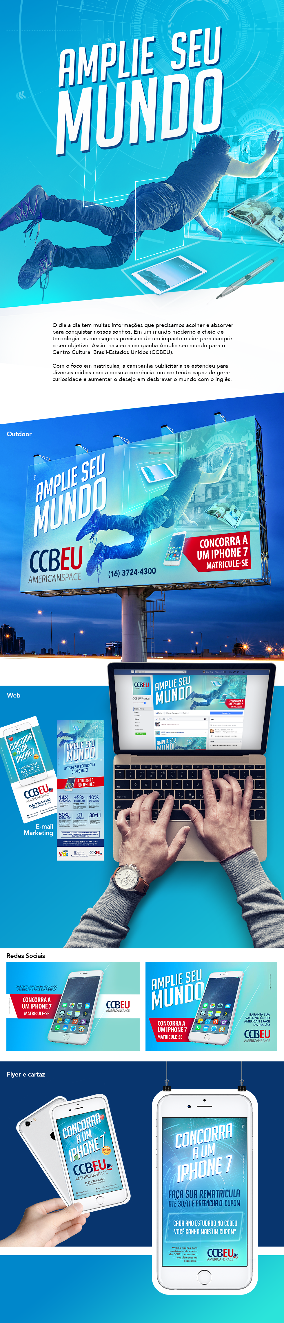 Campanha Amplie seu mundo | CCBEU