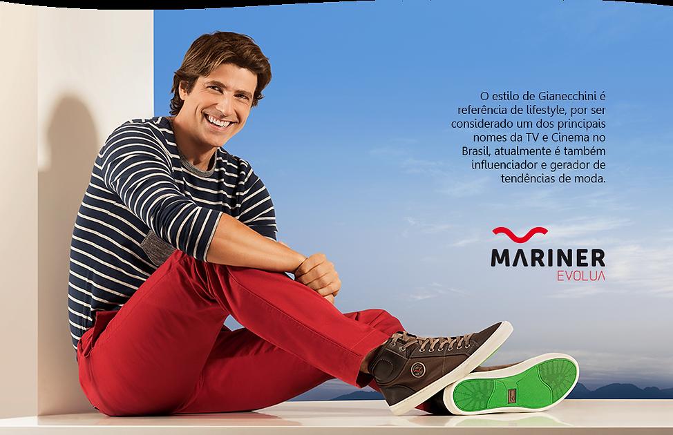 Campanha Evolua Mariner com Reynaldo Gianecchini