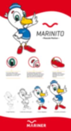 projeto mascote mariner marinito