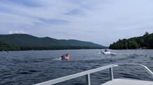 Boating on Lake Dunmore