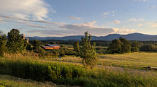 Central Vermont countryside in summer