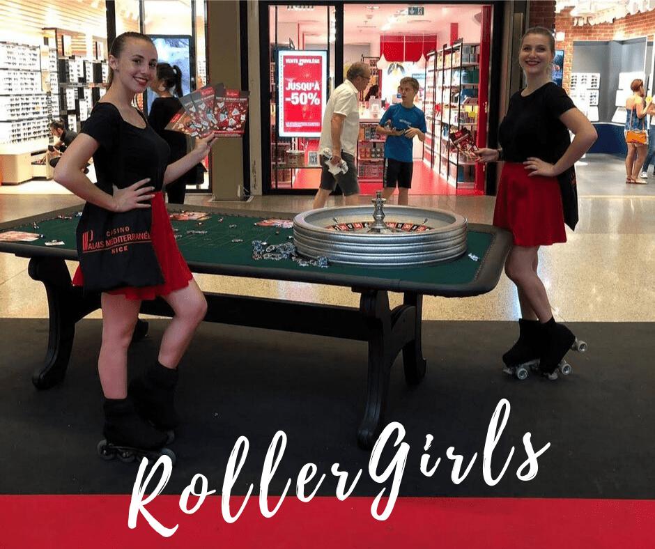 Casino Partouche_Cap 3000_Hôtesses Roller Girls