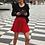 Thumbnail: Jupe Emma - rouge