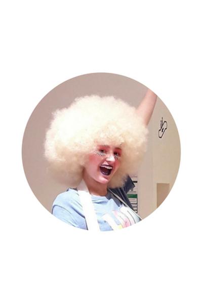 Perruque Dag - Blond