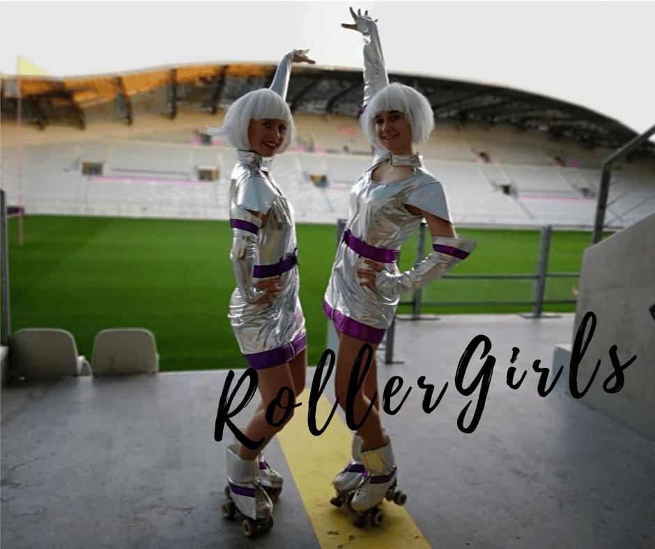 Roller Girl Hôtesses - soirée futuriste