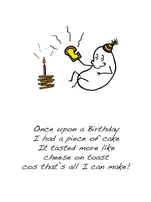 Toast - Once Upon a Peanut Birthday Card