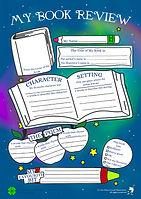 Rhyming Book Review Sheet