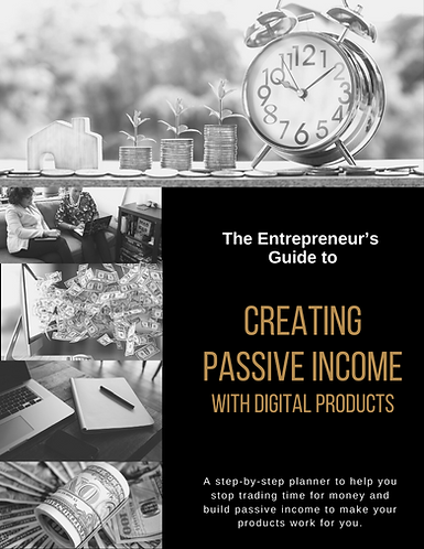 Planner: Create Passive Income with Digital Products