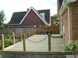 Large Decking Project