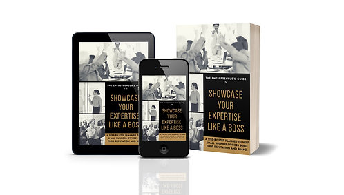 Planner: Showcase Your Expertise Like a BOSS