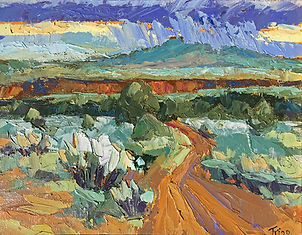 Peggy Trigg 1st Landscape _ Sunset Over
