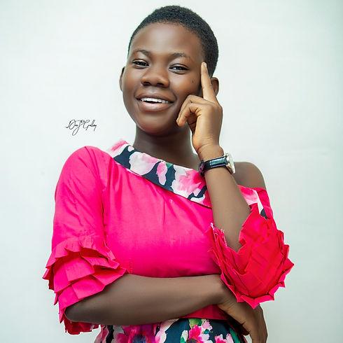 Image of Ghana's Youngest Gospel Star, Odehyieba Priscilla