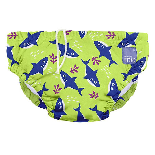 Neon Shark Swim Nappy