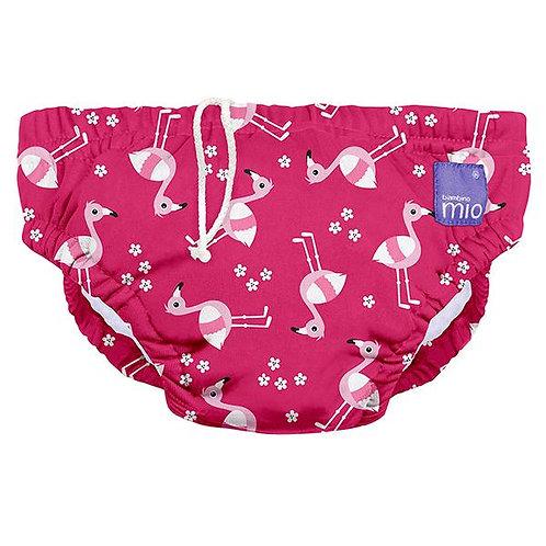 Pink Flamingo Swim Nappy