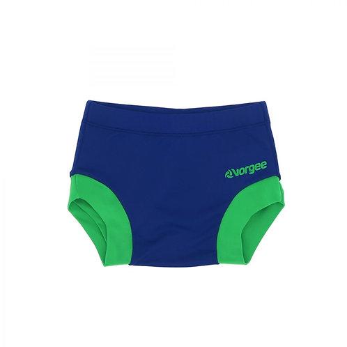 Little Kozzie Swim Nappy – Blue & Green