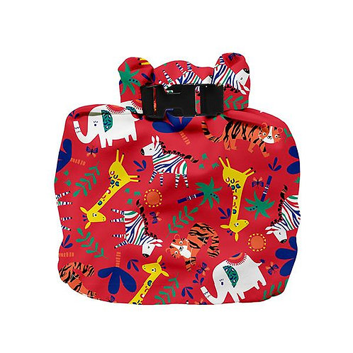 Safari Celebration Red Wet Bag