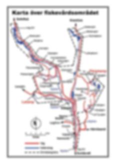 Karta över område områdeskarta