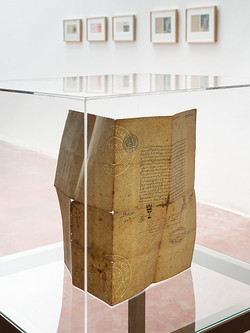 Dor Guez, Pendant Letters, Dvir Gallery 2014_1 - Detail of Bleu, Blanc, ...-203