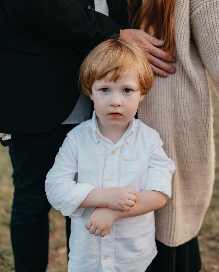 Portrait of a son