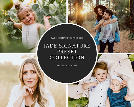 Jade Signature Preset Collection - XMP