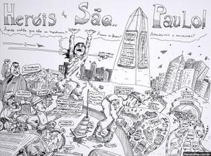 São Paulo III: Obeliscando o Profeta