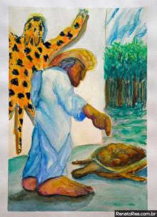 O vendedor de tartarugas