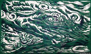 Os Pirarucus na Pororoca (verde)