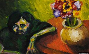 Graceless (flowers in a vase)